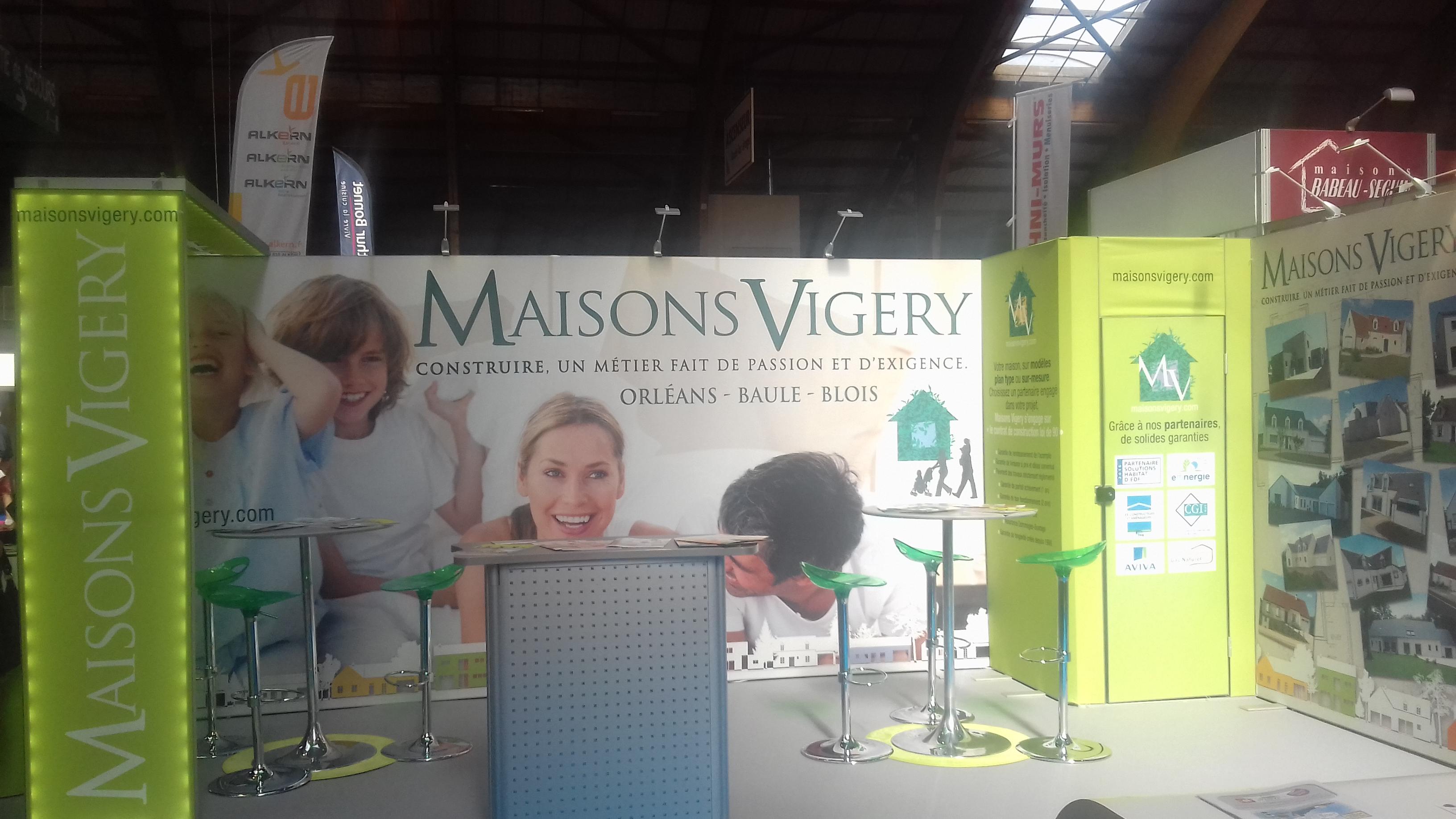 MAISONS VIGERY - photo stand salon de l'habitat