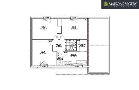 MAISONS VIGERY - plan modèle aunay