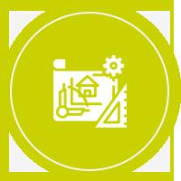 MAISONS VIGERY - pictogramme étape 5 - ouverture du chantier