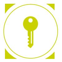 MAISONS VIGERY - pictogramme étape 6 - remise des clés