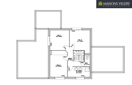 MAISONS VIGERY - plan modèle 3D