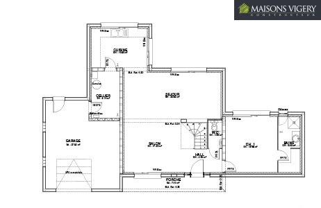MAISONS VIGERY - vue plan modèle 3D